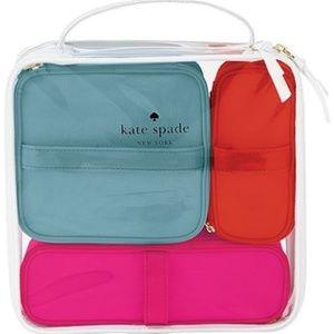 Kate Spade Limited Edition Travel Organizer set